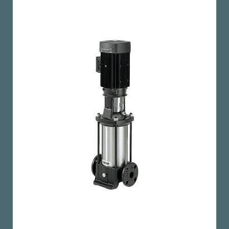 Вертикальный многоступенчатый центробежный насос Grundfos CR 10-1 A-A-A-E-HQQE артикул 96500872 – фото внешнего вида