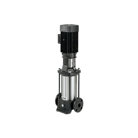 Вертикальный многоступенчатый центробежный насос Grundfos CR 15-1 A-A-A-E-HQQE артикул 96501667 – фото внешнего вида