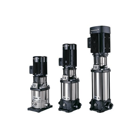 Вертикальный многоступенчатый центробежный насос Grundfos CR 1S-10 A-A-A-E-HQQE артикул 96515560 – фото внешнего вида