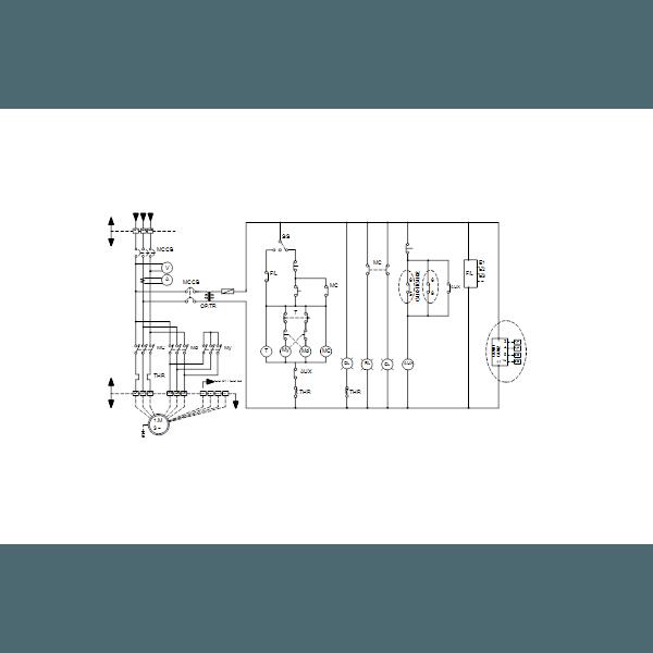 Дренажный погружной канализационный насос Grundfos для канализаций DPK.20.100.110.5.1D артикул 96926034 – схема подключения