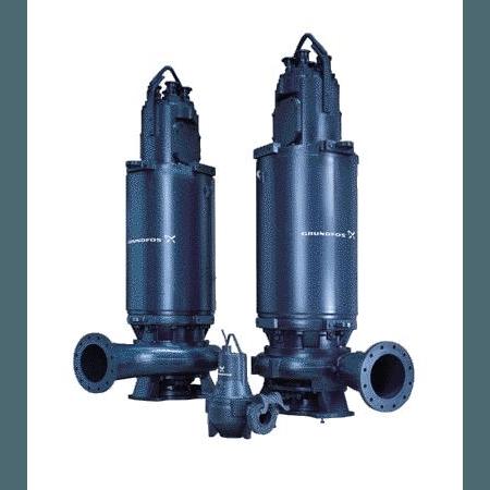 Погружной канализационный насос Grundfos S1.80.100.125.4.50H.C.275.R.N.D.511 артикул 96811035 – фото внешнего вида