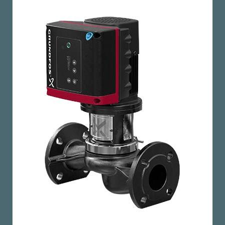 Одноступенчатый вертикальный центробежный насос «ин-лайн» Grundfos TPE 50-630/2 A-F-A-BQQE артикул 98742800 – фото внешнего вида