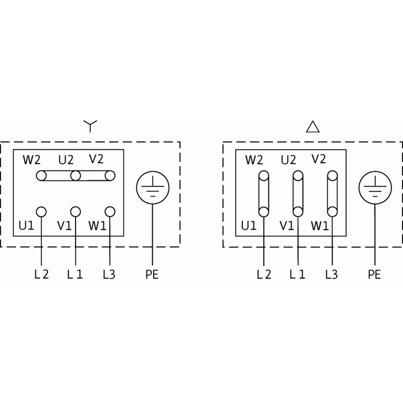 Схема подключения насоса Wilo CronoBloc BL 100/150-2,2/4