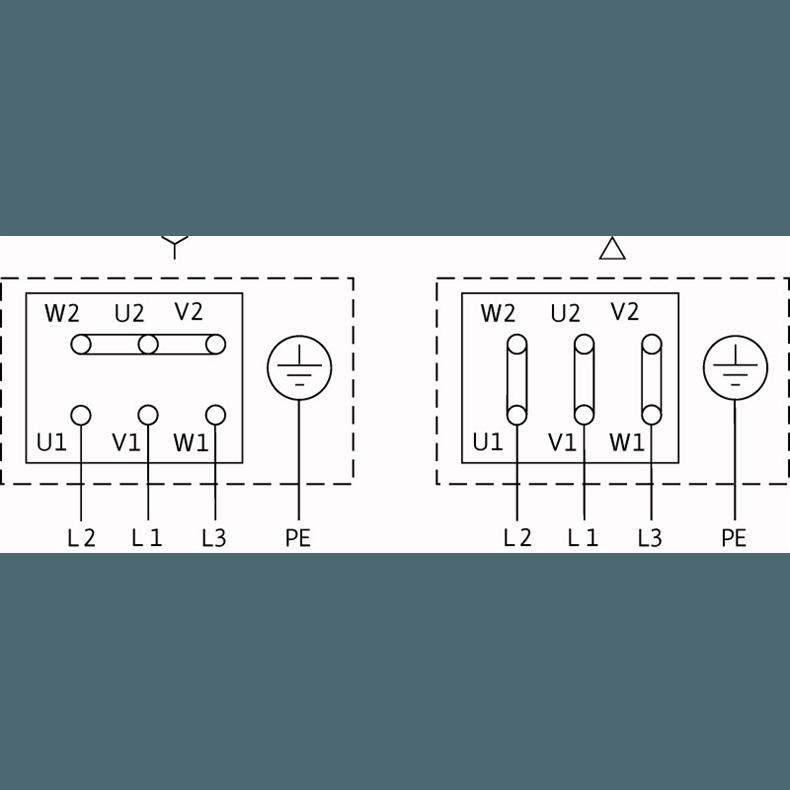 Схема подключения насоса Wilo CronoNorm NL 100/200-18,5-2-12