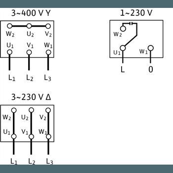 Схема подключения насоса Wilo Economy MHIL 305-E-1-230-50-2