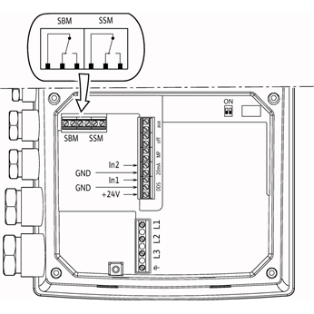 Схема подключения насоса Wilo HELIX EXCEL 1005-1/25/E/KS