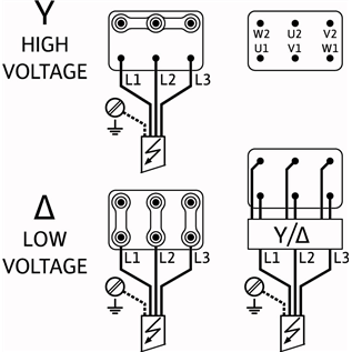 Схема подключения насоса Wilo HELIX FIRST V 1001-5/16/E/S/400-50