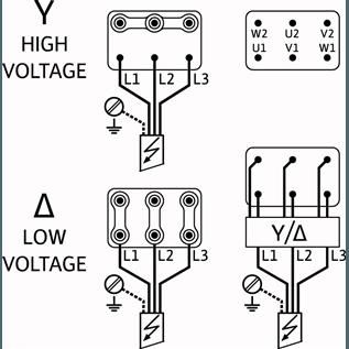 Схема подключения насоса Wilo HELIX V 1001-2/25/V/KS/400-50