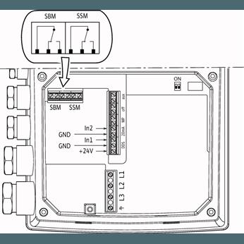 Схема подключения насоса Wilo HELIX VE 1001-2/25/V/KS