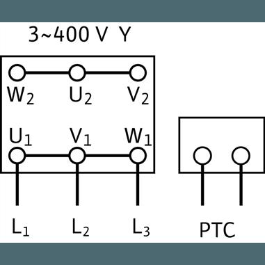 Схема подключения насоса Wilo Multivert MVIS 202-1/16/K/3-400-50-2