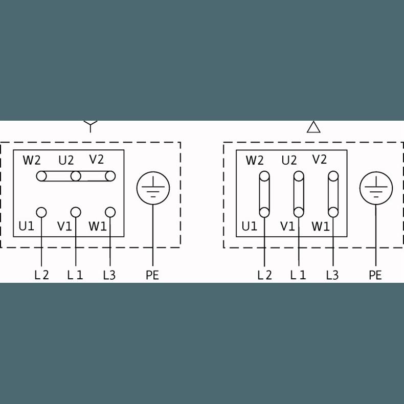 Схема подключения насоса Wilo VeroTwin DPL 32/135-1,5/2