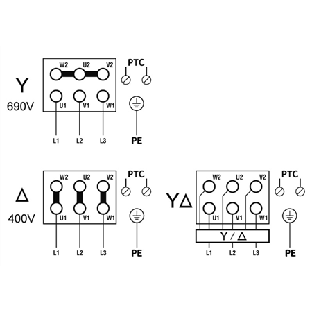 Схема подключения насоса Wilo ZEOX-FIRST H4208-30-2