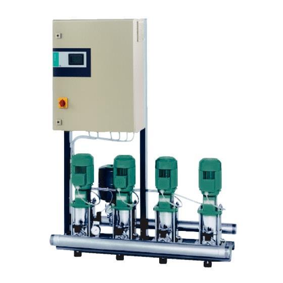 Фото насосной станции для водоснабжения и повышения давления воды Wilo CO-2 MVI 7006/2/CC-EB-PN25-R артикул 2523195