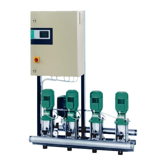 Фото насосной станции для водоснабжения и повышения давления воды Wilo COR-3 MVI 9501/1/SKw-EB-R
