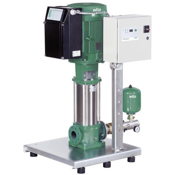 Фото насосной станции для водоснабжения и повышения давления воды Wilo COR-1 MVIE 204 EM2-GE-R