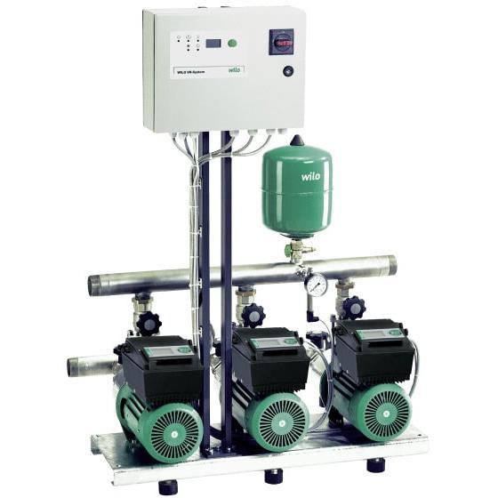 Фото насосной станции для водоснабжения и повышения давления воды Wilo COR-2 MHIE 403-2G/VR-EB-R