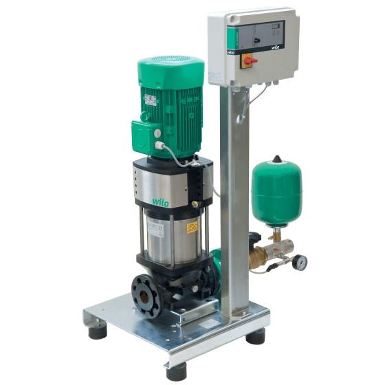 Фото насосной станции для водоснабжения и повышения давления воды Wilo CO-1 HELIX V 1606/CE-EB-R