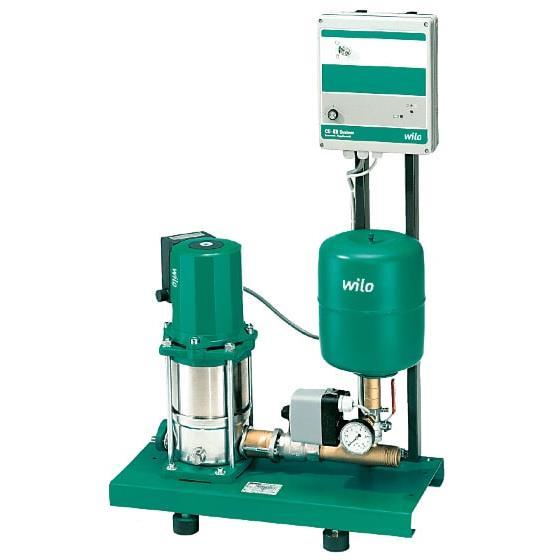 Фото насосной станции для водоснабжения и повышения давления воды Wilo CO-1 MVIS 408/ER-PN10-R