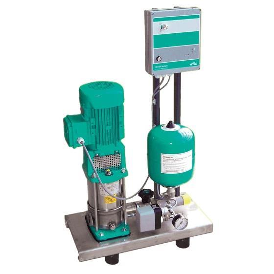 Фото насосной станции для водоснабжения и повышения давления воды Wilo CO-1 MVI 7003/2/ER(SD)-EB-R артикул 2523177