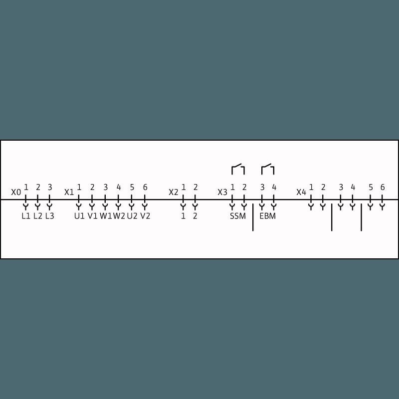 Схема подключения насосной станции Wilo CO-1 HELIX V 2208/CE-EB-R