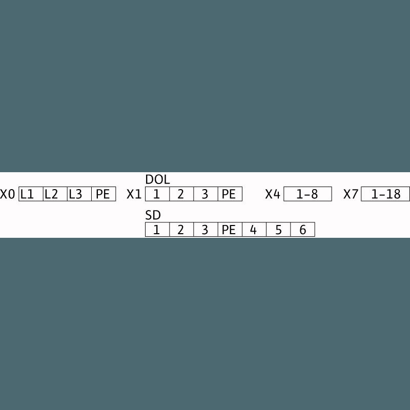 Схема подключения насосной станции Wilo SiFire-40/250-230-18.5/17.7/1.1-EDJ-R