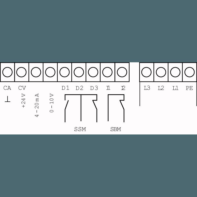 Схема подключения насосной станции Wilo Smart 1 HELIX VE 1009