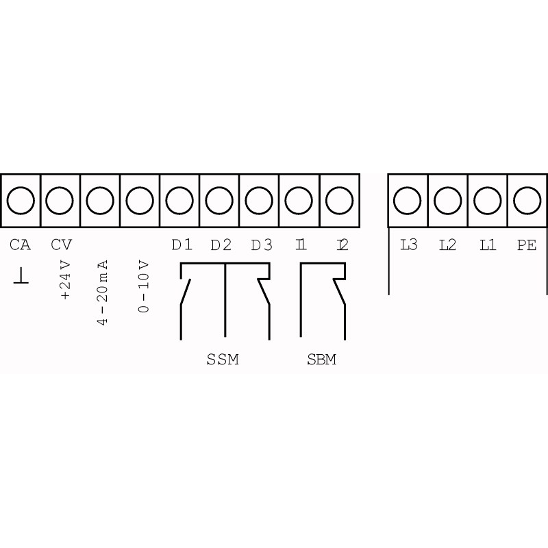 Схема подключения насосной станции Wilo Smart 1 HELIX VE 1606