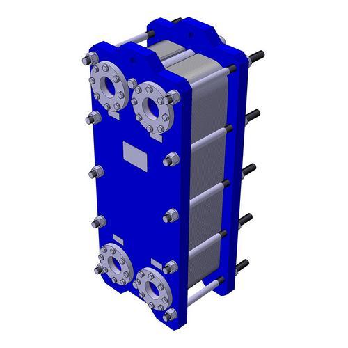 Пластинчатый разборный теплообменник КС 10Х – фото внешнего вида