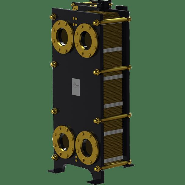 Пластинчатый разборный теплообменник Nord FO – фото внешнего вида