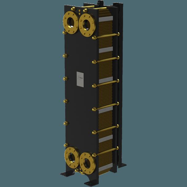Пластинчатый разборный теплообменник Nord FS – фото внешнего вида