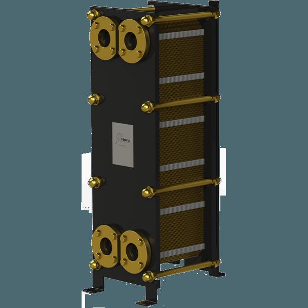 Пластинчатый разборный теплообменник Nord FT – фото внешнего вида