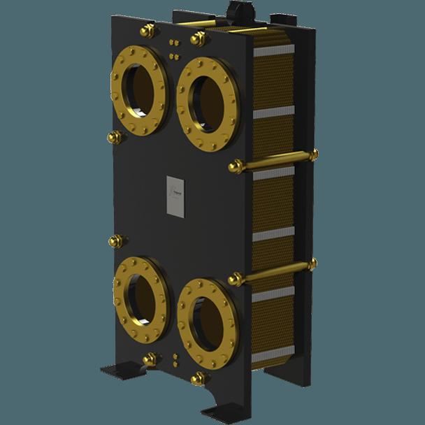 Пластинчатый разборный теплообменник Nord FTh – фото внешнего вида