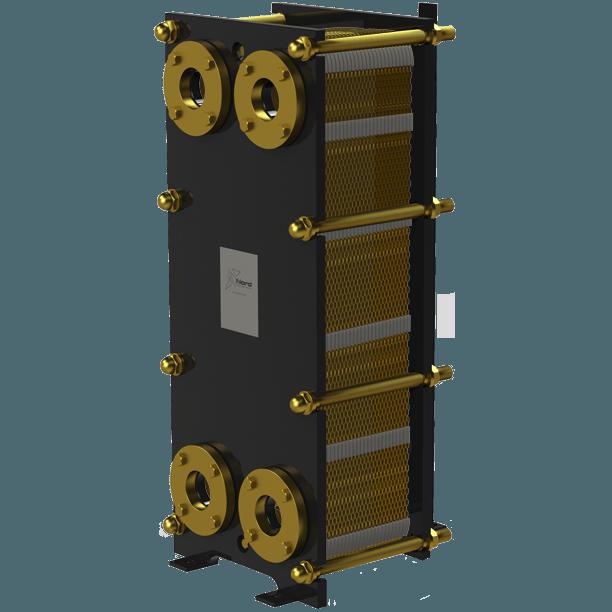 Пластинчатый разборный теплообменник Nord NT – фото внешнего вида