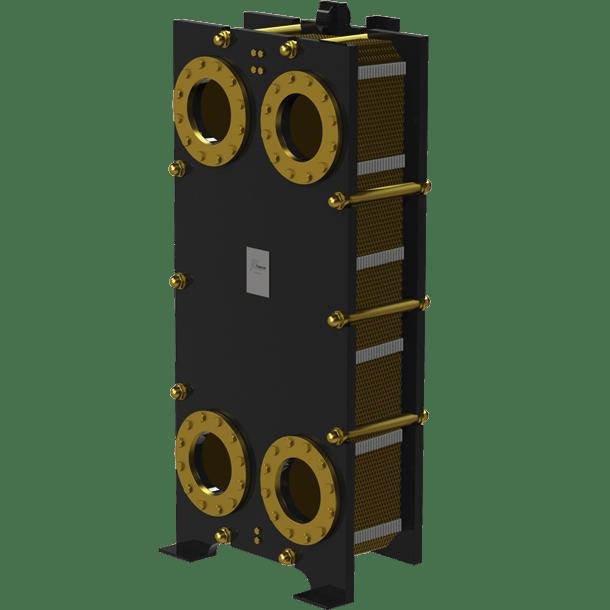 Пластинчатый разборный теплообменник Nord SF – фото внешнего вида