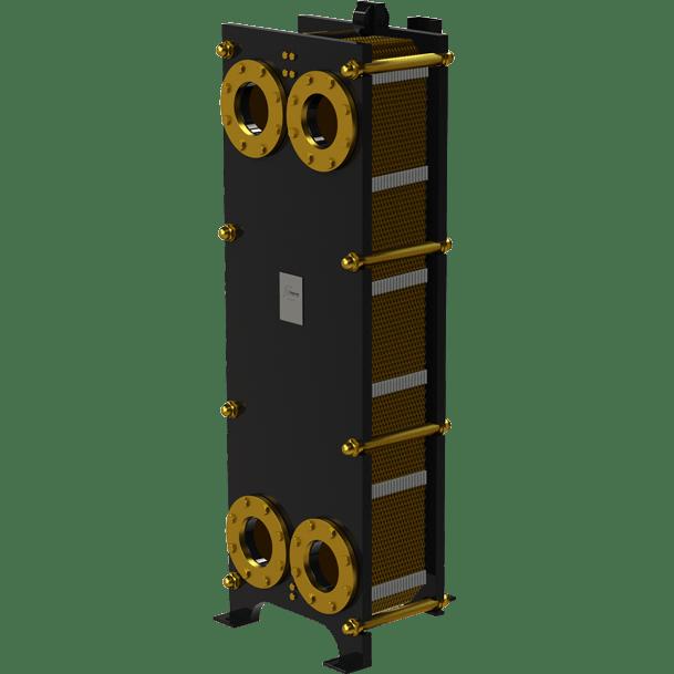 Пластинчатый разборный теплообменник Nord ST – фото внешнего вида