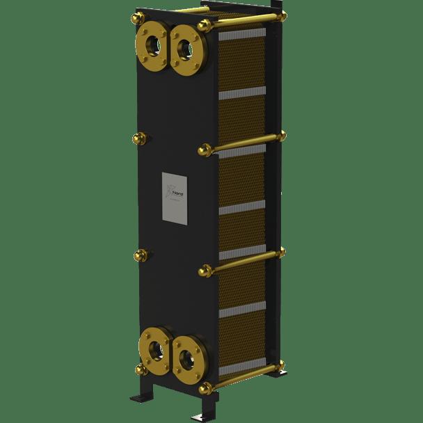 Пластинчатый разборный теплообменник Nord TW – фото внешнего вида