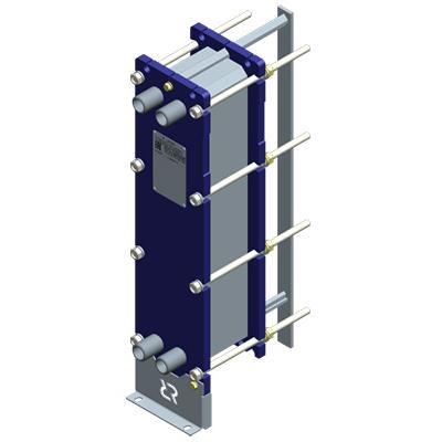 Пластинчатый разборный теплообменник Ридан НН 06М – фото внешнего вида