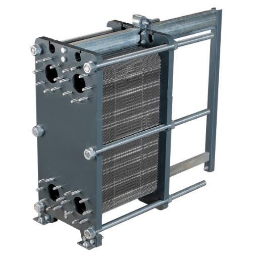 Пластинчатый разборный теплообменник Ридан XGF100-034 – фото внешнего вида