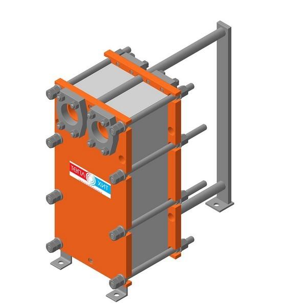 Пластинчатый разборный теплообменник Теплохит ТИ 056 (ДУ 50) – фото внешнего вида