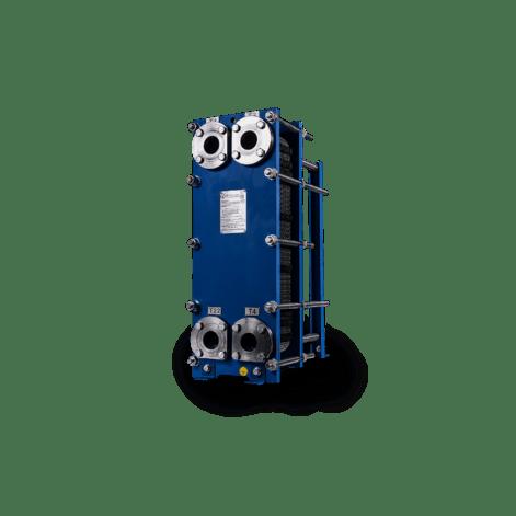 Пластинчатый разборный теплообменник Теплосила ЕТ 002 – фото внешнего вида